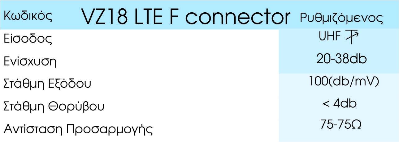 VZ 18 LTE F